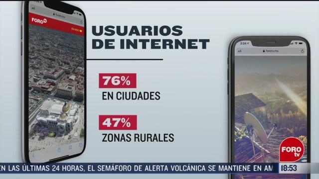 ochenta millones de mexicanos tienen acceso a internet