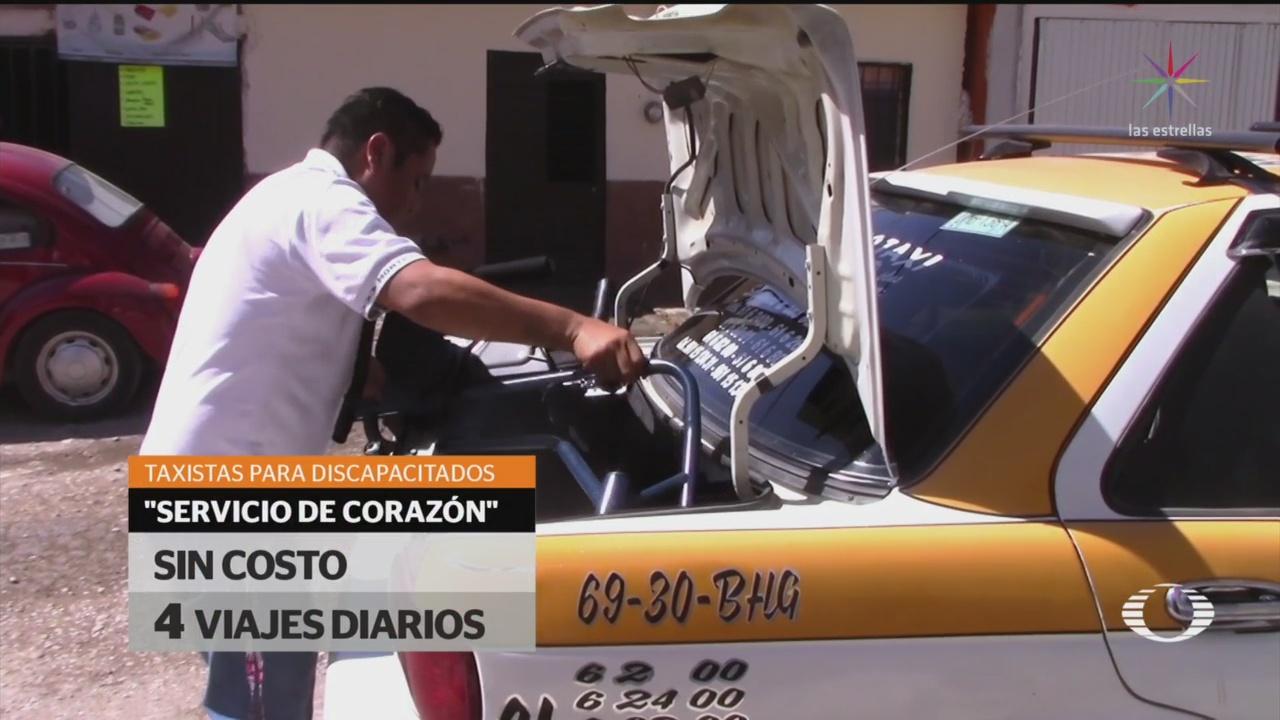 FOTO: 3 Febrero 2020, ofrecen servicio de taxi gratuito para familias de bajos recursos en tuxtla gutierrez