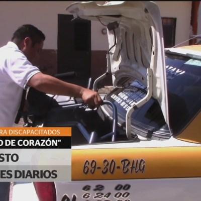 Ofrecen servicio de taxi gratuito para familias de bajos recursos en Tuxtla Gutiérrez