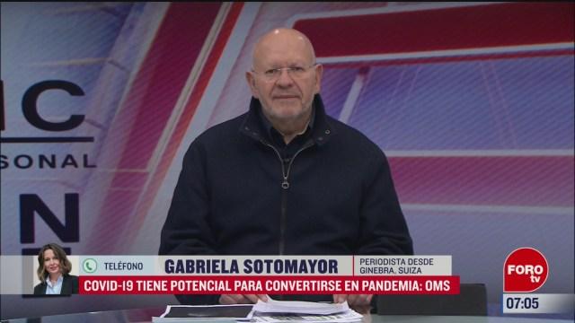 oms covid 19 tiene potencial para convertirse en pandemia