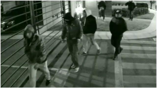 Foto: Captan en video el robo de baterías de vehículos en Toluca, 8 de febrero de 2020 (Foro TV)
