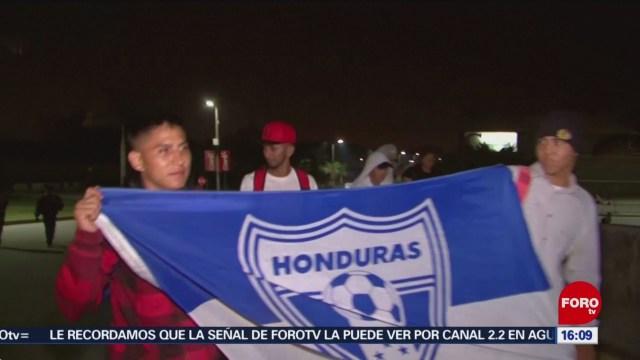 FOTO: 1 Febrero 2020, segunda caravana migrante se dirige a mexico