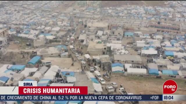 FOTO: siria vive una nueva crisis humanitaria