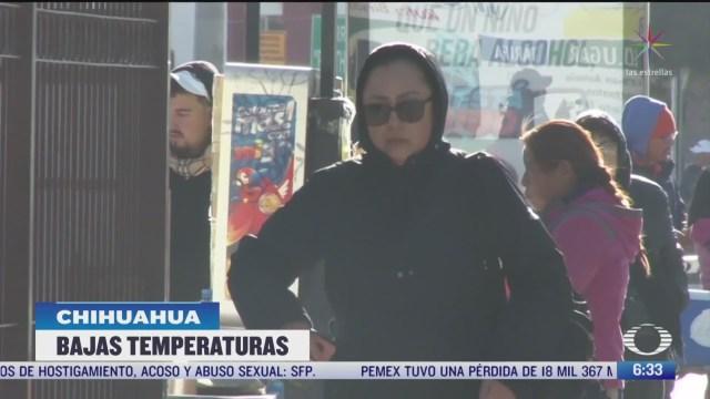 sonora y chihuahua afectados por el frente frio