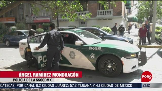 Foto: Policías Cdmx Servicio Acompañamiento Bancos 11 Febrero 2020