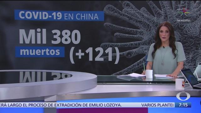 suman mil 380 muertos por coronavirus en china