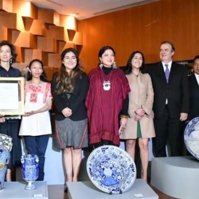 Talavera mexicana ya es oficialmente Patrimonio Cultural Inmaterial de la Humanidad