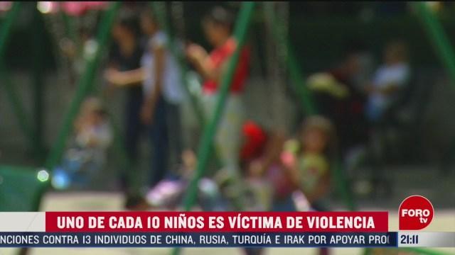 Foto: Uno Cada 10 Niños Víctima Violencia México Violencia Infantil 25 Febrero 2020