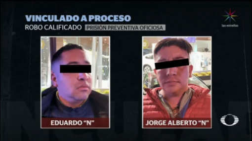 Foto: Vinculan Proceso Asaltantes Periférico Sur 5 Febrero 2020