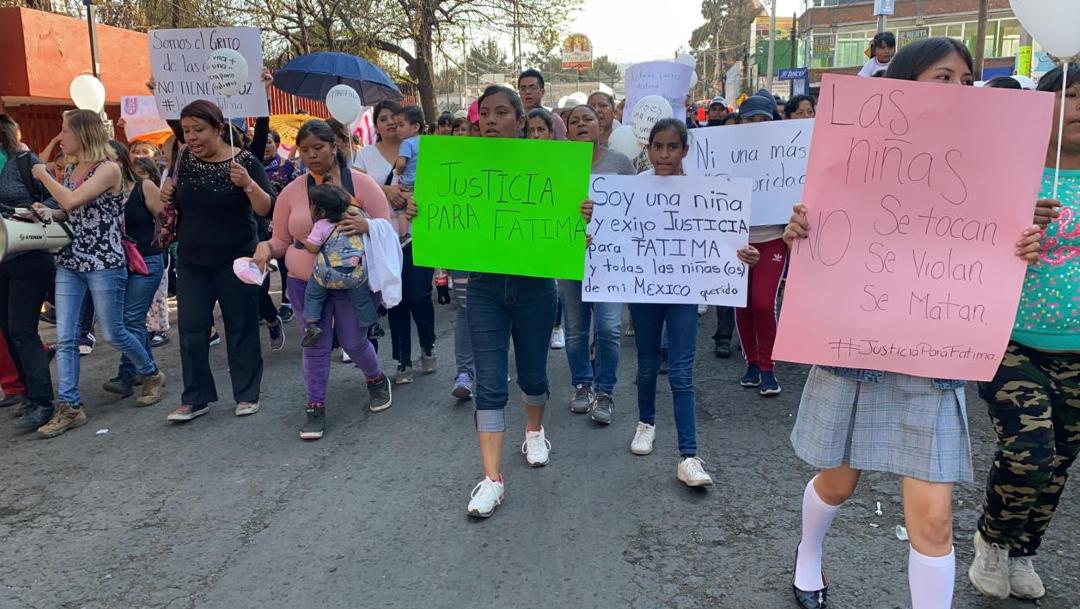 vecinos exigen justicia para fátima