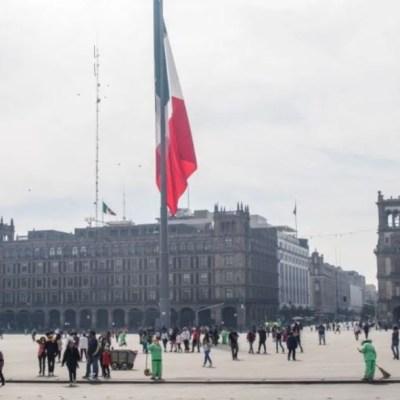 Foto: Zócalo de la Ciudad de México, 26 febrero 2020