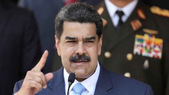 Foto: 'Eres un miserable', dice Maduro a Trump tras ser acusado por EEUU de narcoterrorismo, 26 de marzo de 2020, (Reuters, archivo)