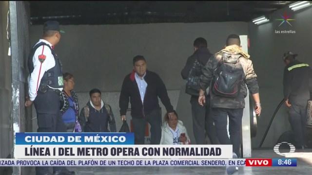 abren estacion tacubaya del metro cdmx tras suspension de servicio