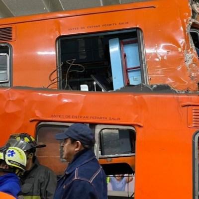 Fotos y videos: Choque de trenes en Metro Tacubaya, CDMX, que dejó 1 muerto y 41 heridos
