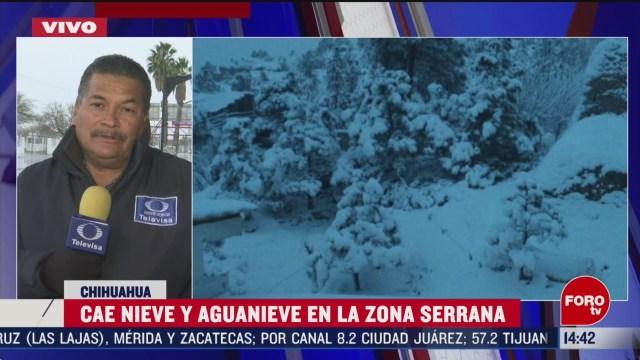 FOTO: activan alerta amarilla en chihuahua por nevadas