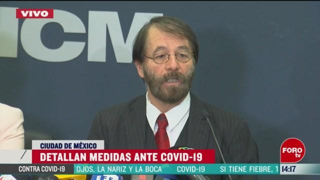 FOTO: aicm implementa medidas contra el coronavirus