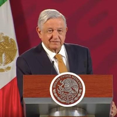 El presidente Andrés Manuel López Obrador, durante su conferencia de prensa matutina en Palacio Nacional (Foto: Gobierno de México YouTube)