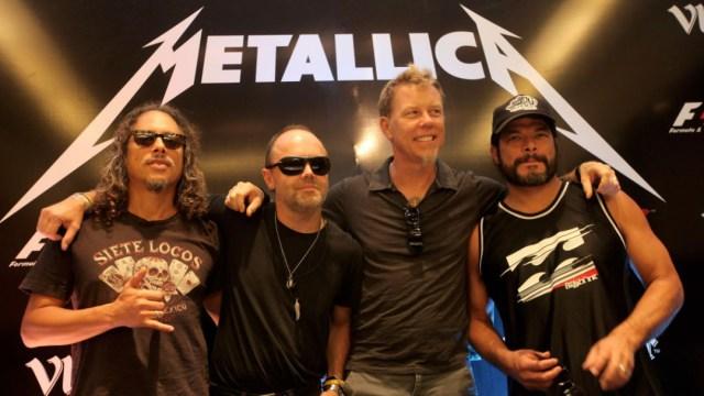 Metallica anuncia conciertos en redes sociales por COVID-19