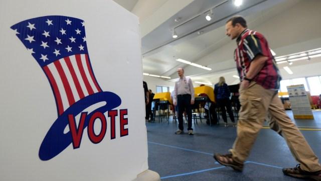 Elecciones del supermartes en Estados Unidos. (