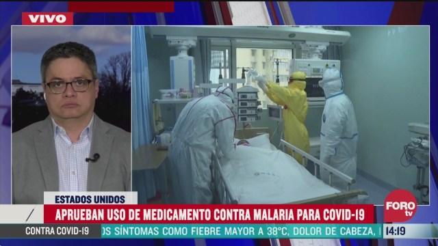 FOTO: aprueban uso y distribucion en hospitales de medicamento usado contra la malaria en eeuu