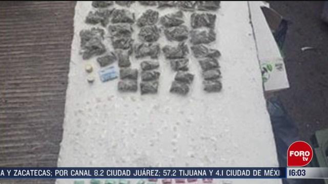 FOTO: 7 marzo 2020, aseguran 262 envoltorios con probable cocaina en la alcaldia tlalpan