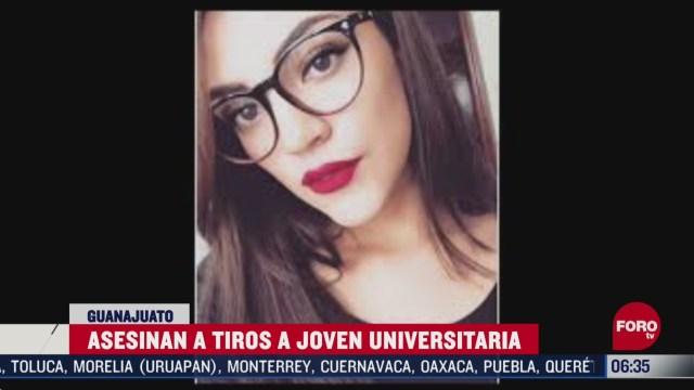 asesinan a estudiante universitaria en salamanca guanajuato