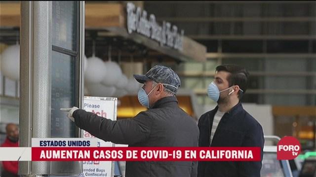 aumentan casos de covid 19 en california
