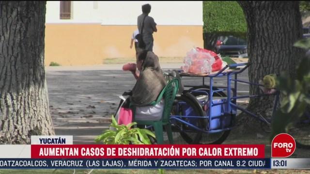 FOTO: 14 marzo 2020, aumentan casos de deshidratacion por calor extremo en yucatan