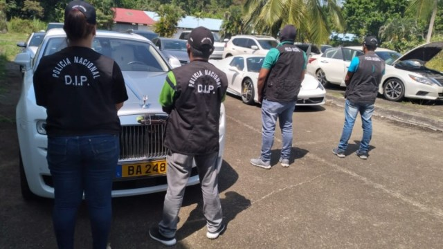 Aseguran vehículos de lujo a mexicano investigado en Panamá