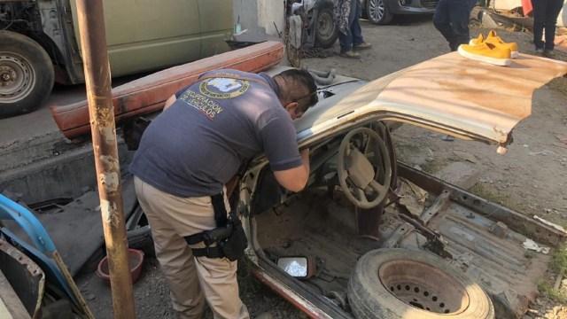 Foto: El cateo se realizó como parte de una investigación iniciada por el delito de robo de vehículo con violencia