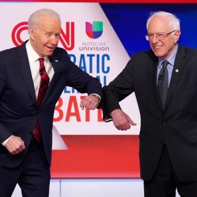 Biden y Sanders se miden en debate eclipsado por el coronavirus