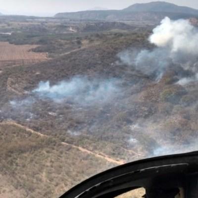 Se registra incendio en el Bosque de la Primavera, en Jalisco