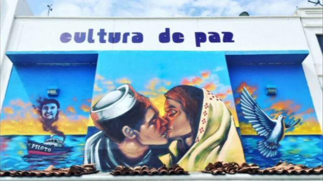 Foto: Arte invade zonas delictivas en Colima,15 de febrero de 2020, (FOROtv)