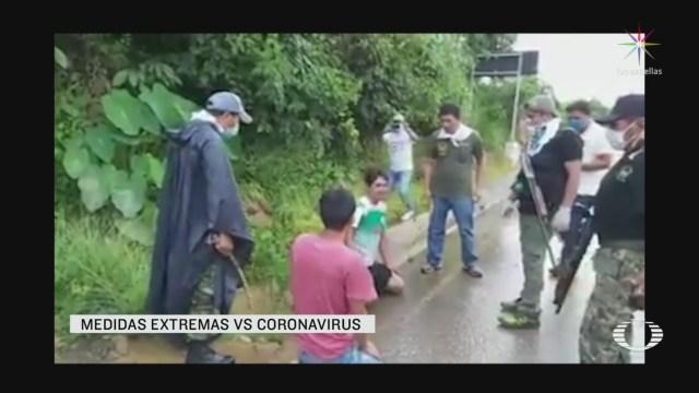 Foto: Coronavirus Castigan Azotes Jóvenes No Respetar Cuarentena Perú 24 Marzo 2020