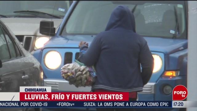 FOTO: 13 marzo 2020, chihuahua se resiste al frente frio
