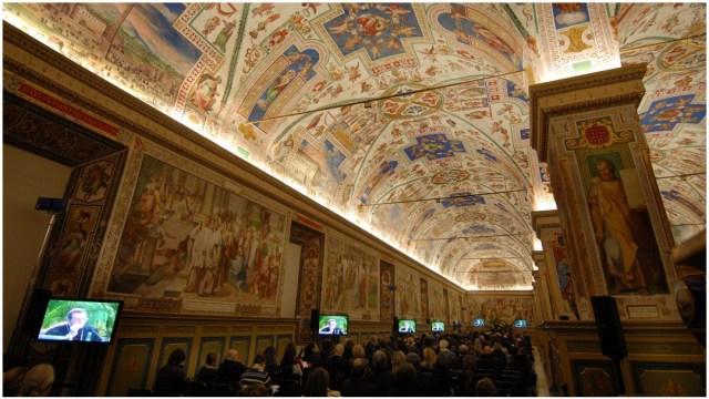 Imagen: Los Museos del Vaticano cerrarán por cerca de un mes a causa del coronavirus, 8 de marzo del 2020 (Getty Images)