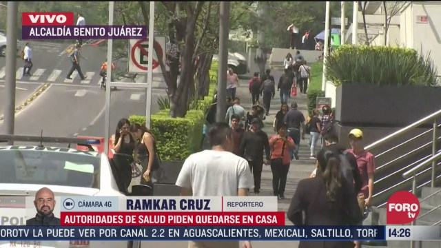 FOTO: ciudadanos continuan acudiendo a centros comerciales de la ciudad de mexico