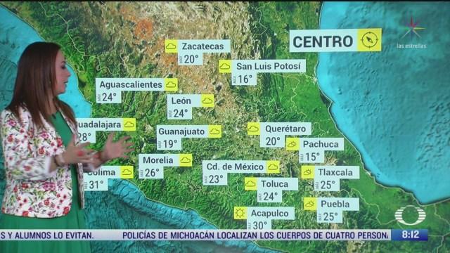 clima al aire lluvias fuertes en el sureste de mexico