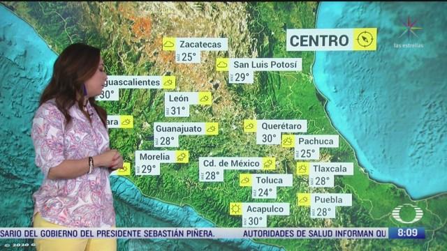 clima al aire pronostican lluvias fuertes en noroeste de mexico