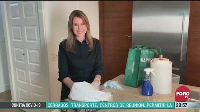 Foto: Coronavirus Cómo Desinfectar Despensa Evitar Contagios COVID-19 30 Marzo 2020