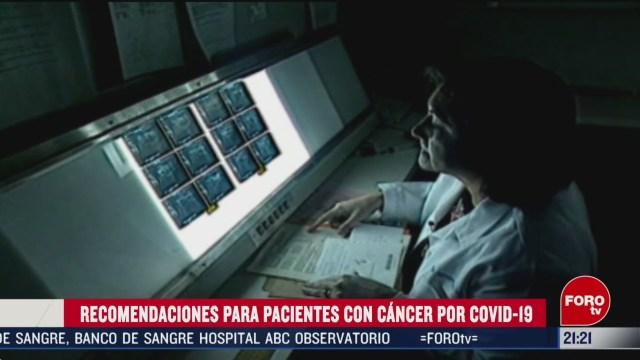 Foto: Pacientes Cáncer Protección Coronavirus Covid19 17 Marzo 2020