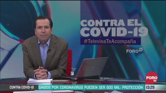 FOTO: contra el covid 19 televisateacompana del 24 de marzo de