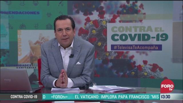 FOTO: contra el covid 19 televisateacompana primera emision 25 de marzo de