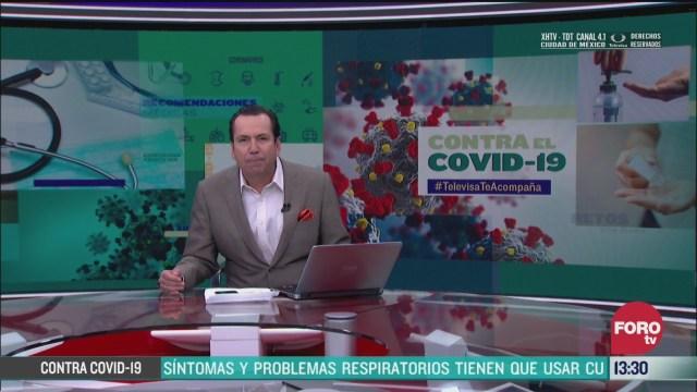 FOTO: contra el covid 19 televisateacompana primera emision 26 de marzo de