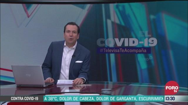 FOTO: contra el covid 19 televisateacompana primera emision 27 de marzo de