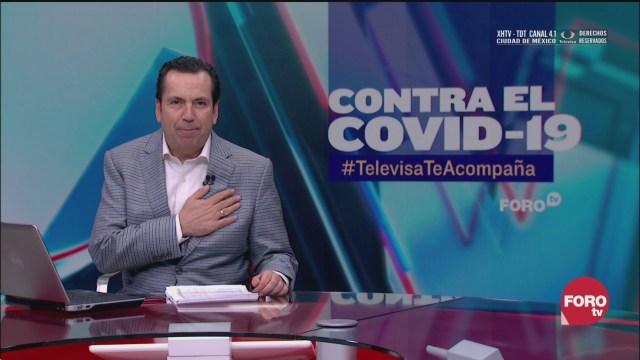 Foto: Contra El COVID Televisa Te Acompaña Recomendaciones Prevención Coronavirus Pandemia Cuarentena 25 Marzo 2020