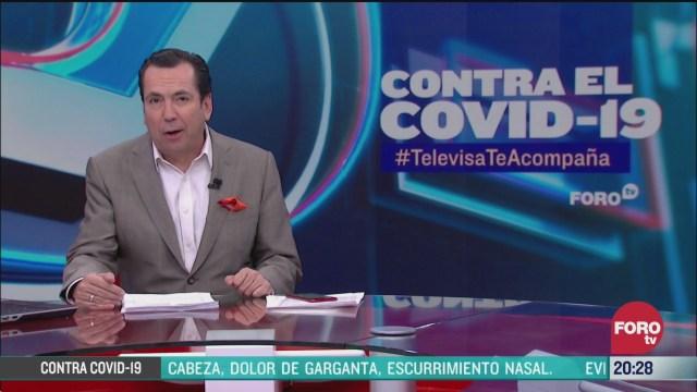 Foto: Contra El COVID Televisa Te Acompaña Recomendaciones Prevención Coronavirus Pandemia Cuarentena 26 Marzo 2020