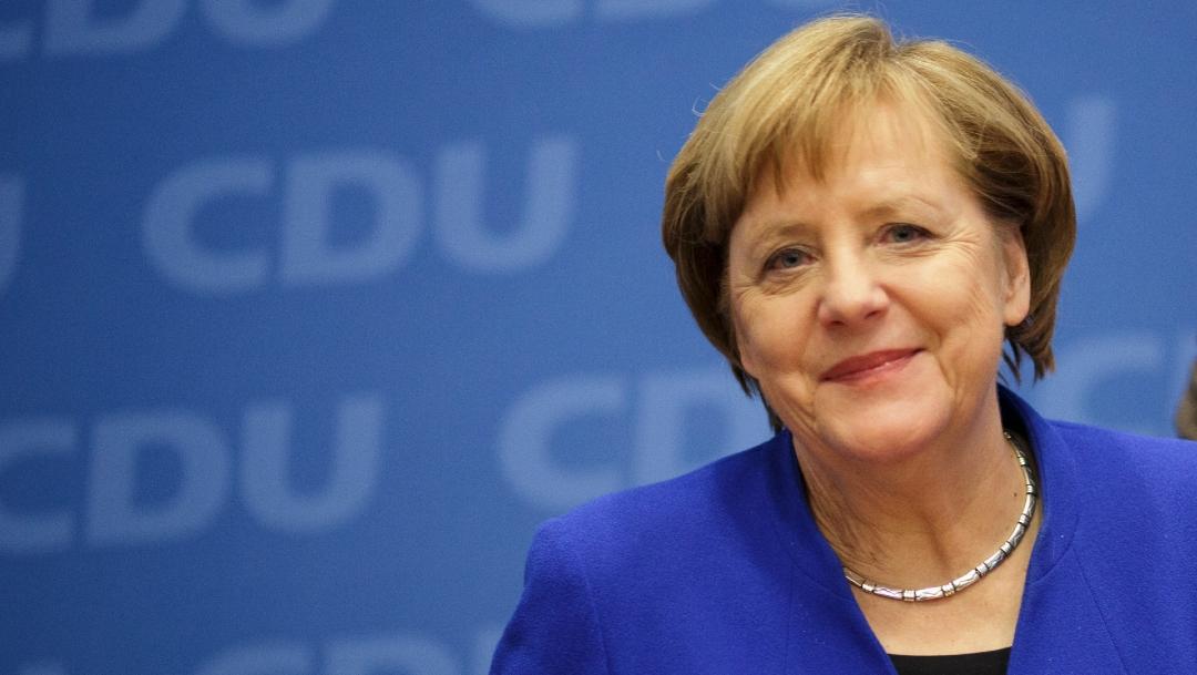 FOTO: Merkel da negativo de nuevo en test de coronavirus, pero sigue en cuarentena, el 25 de marzo de 2020