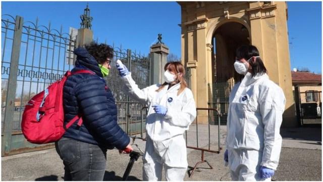Imagen: En las últimas horas subió el número de muerto por coronavirus en Italia, 8 de marzo de 2020 (EFE)