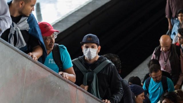 Coronavirus Mexico, Coronavirus en Mexico, Coronavirus, Transporte Publico, Metro, El Coronavirus, Coronavirus Noticias, Prevencion, Sana Distancia, Contagio, Coronavirus en México, COVID, Ciudad de México, 24 de marzo 2020